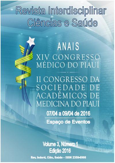 Anais XIV Congresso Médico do Piauí/ II Congresso da Sociedade de Acadêmicos de Medicina do Piauí